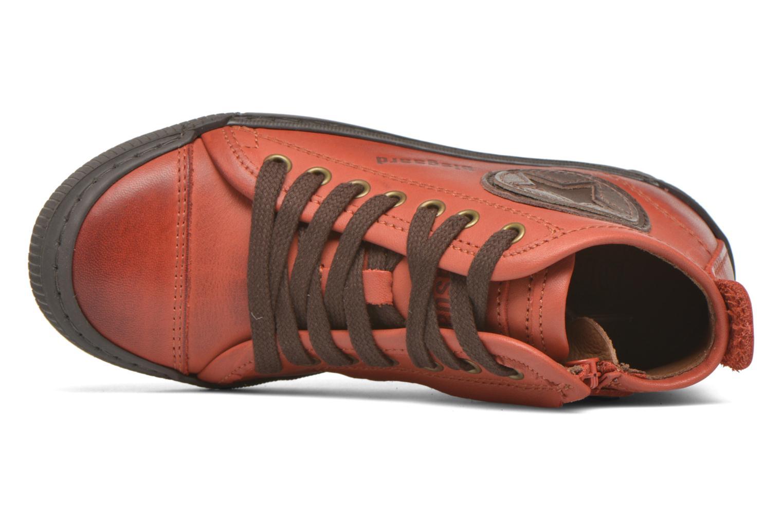 Sneaker Bisgaard Else rot ansicht von links