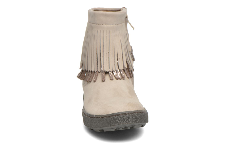 Bottines et boots Bisgaard Susanne Beige vue portées chaussures