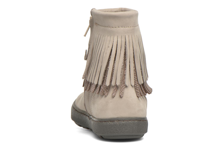 Bottines et boots Bisgaard Susanne Beige vue droite