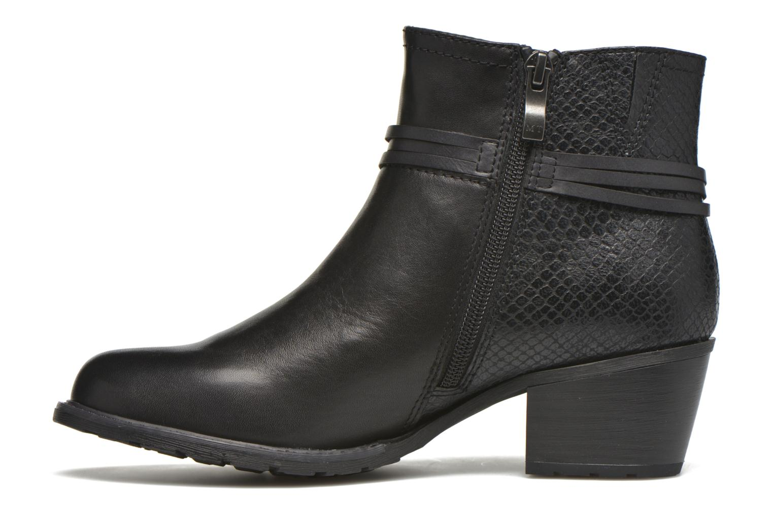 Ankle boots Marco Tozzi Bonite Black front view