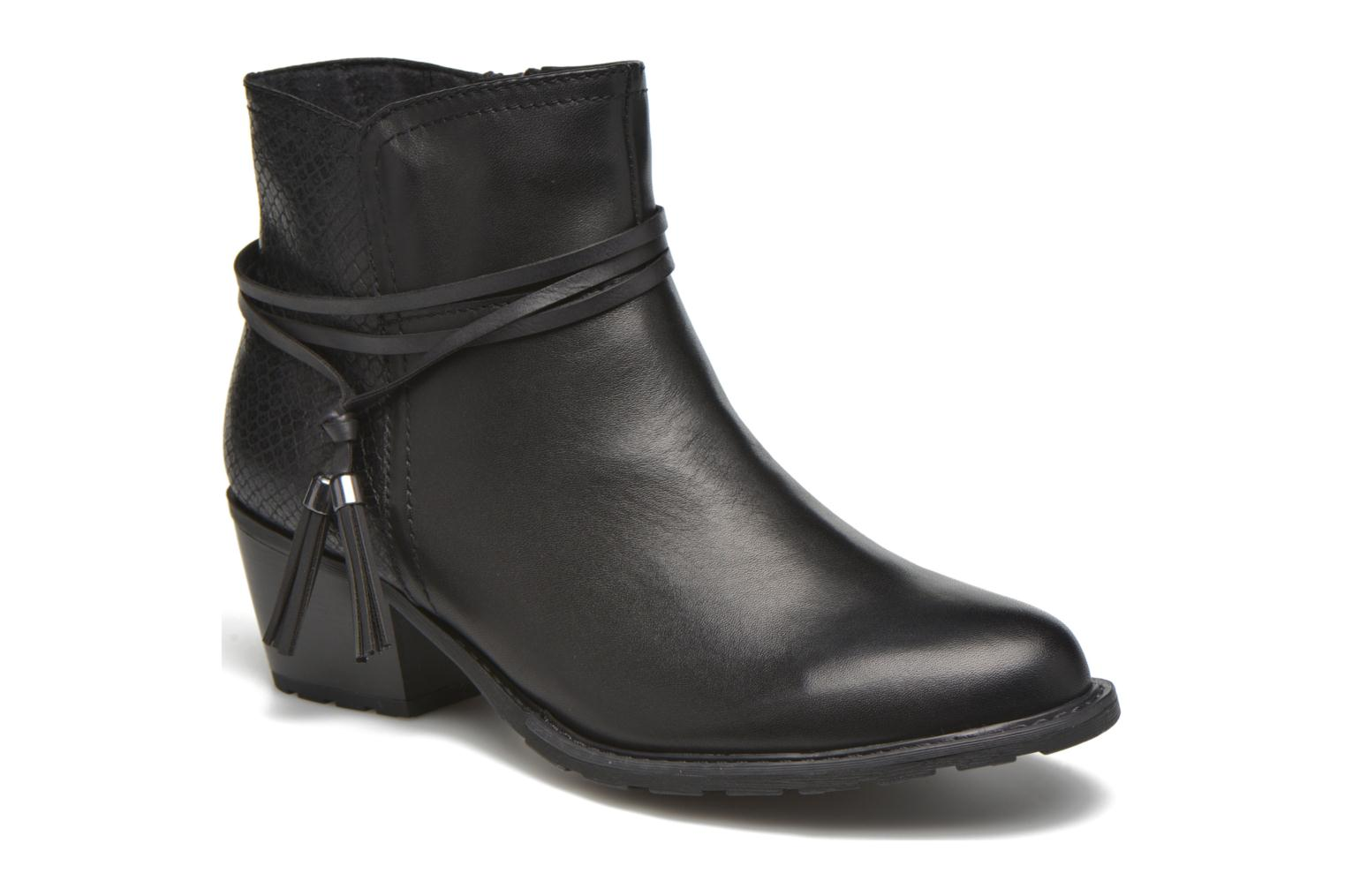 Ankle boots Marco Tozzi Bonite Black detailed view/ Pair view