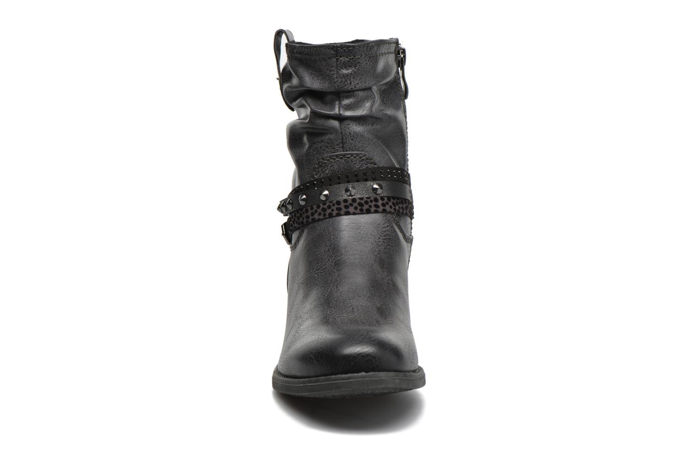 Stiefeletten & Boots Marco Tozzi Meunier grau schuhe getragen