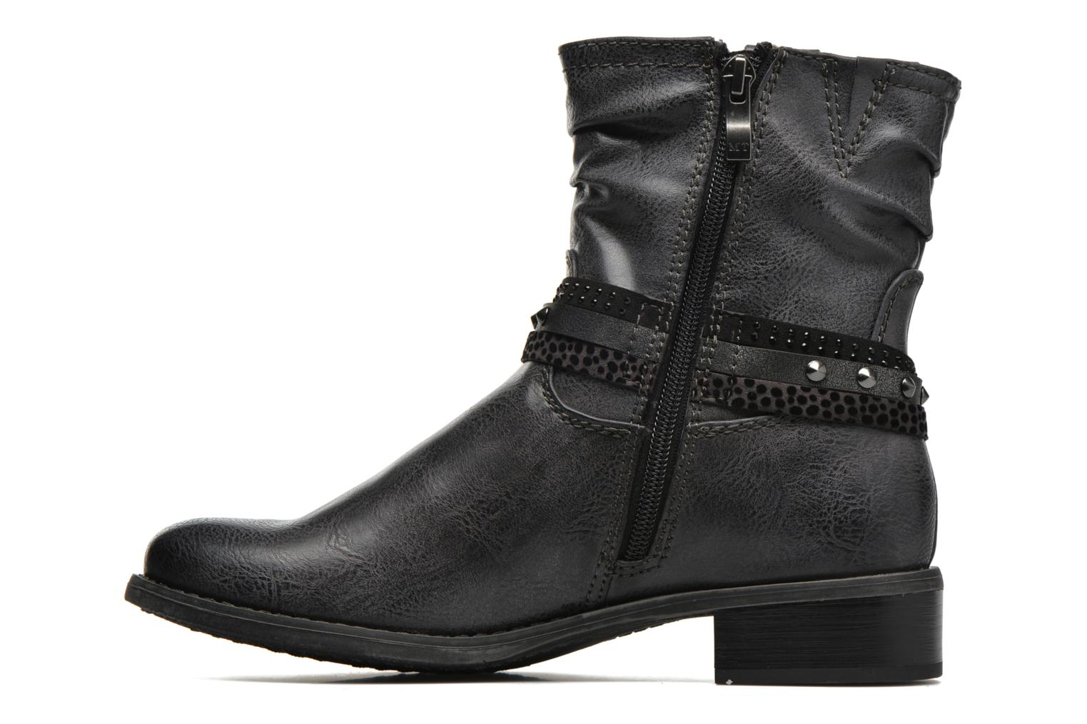 Ankle boots Marco Tozzi Meunier Grey front view