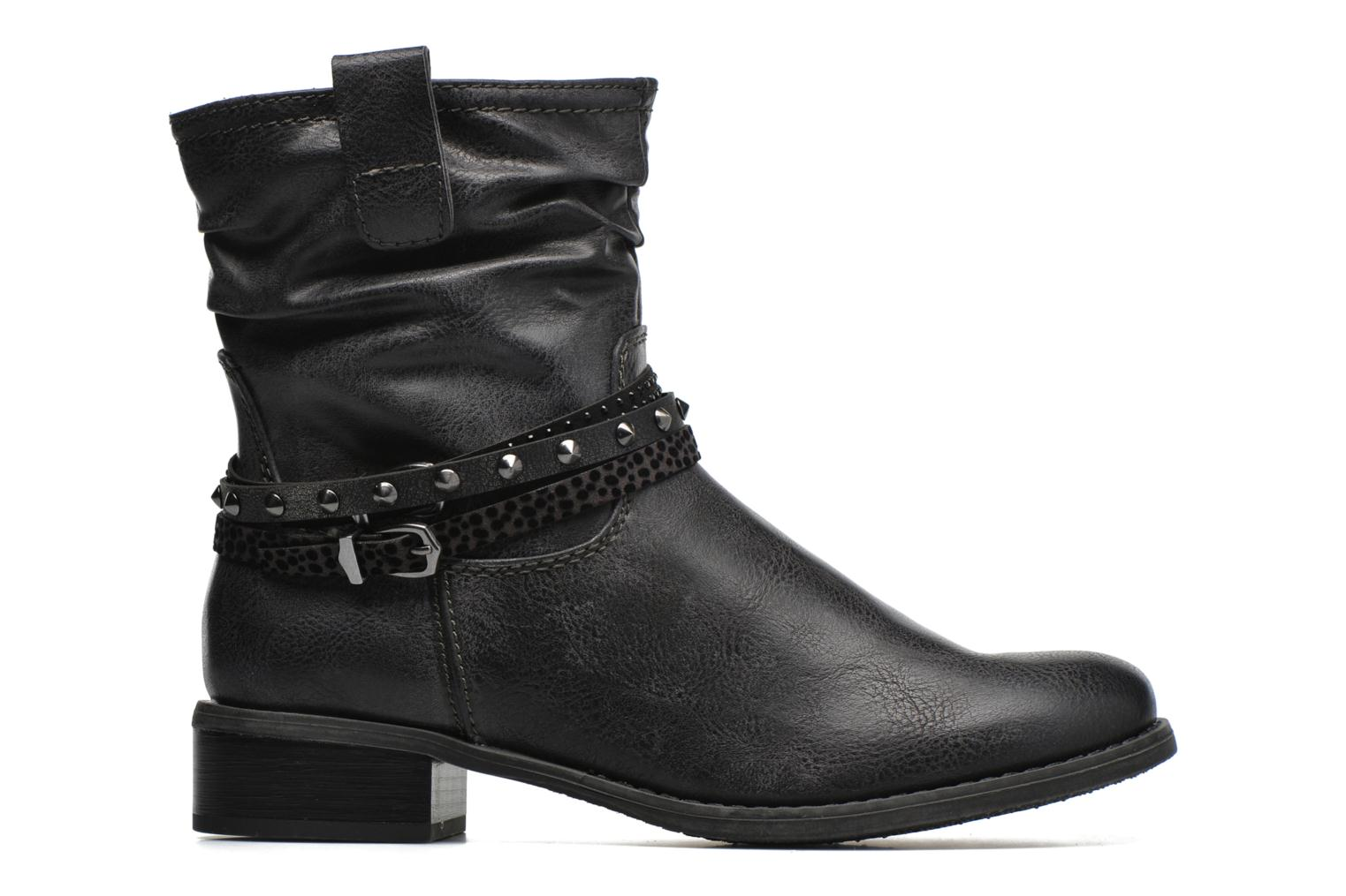 Ankle boots Marco Tozzi Meunier Grey back view