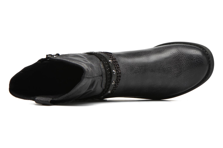 Stiefeletten & Boots Marco Tozzi Meunier grau ansicht von links