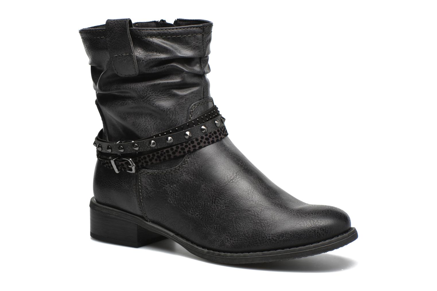 Ankle boots Marco Tozzi Meunier Grey detailed view/ Pair view