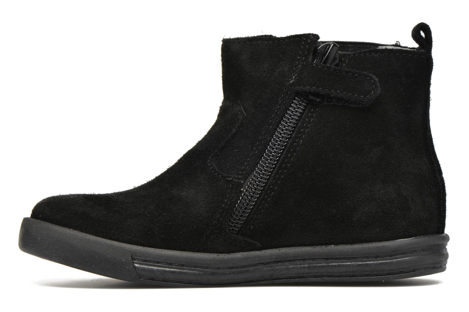 Ankle boots Minibel Laura Black front view
