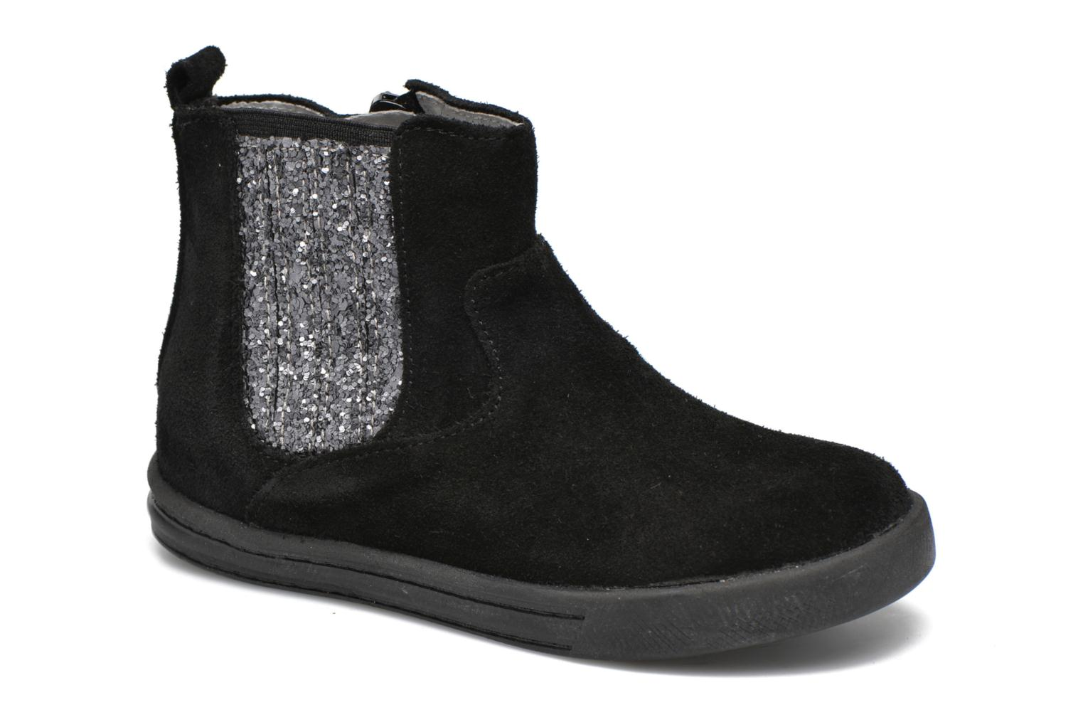 Ankle boots Minibel Laura Black detailed view/ Pair view