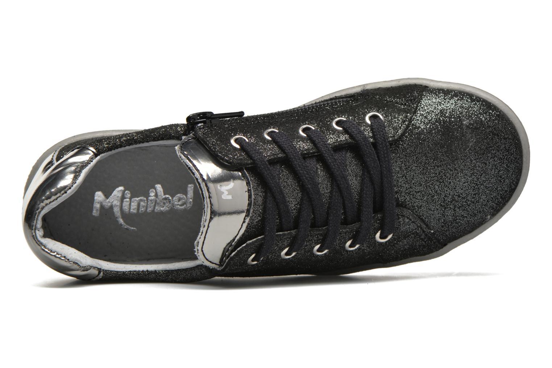 Sneakers Minibel Pixy Zwart links