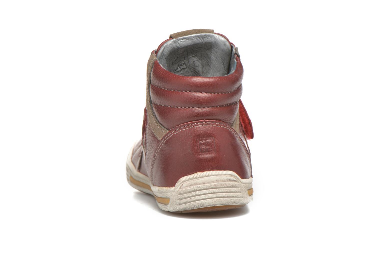 Sneaker Noël Realy rot ansicht von rechts