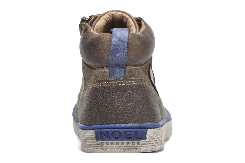 Sneaker Noël Volker braun ansicht von rechts