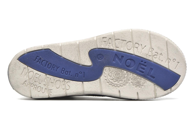 Sneaker Noël Volker braun ansicht von links