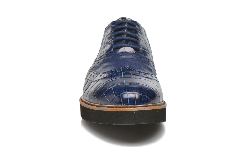 Schnürschuhe Ippon Vintage Andy croco blau schuhe getragen