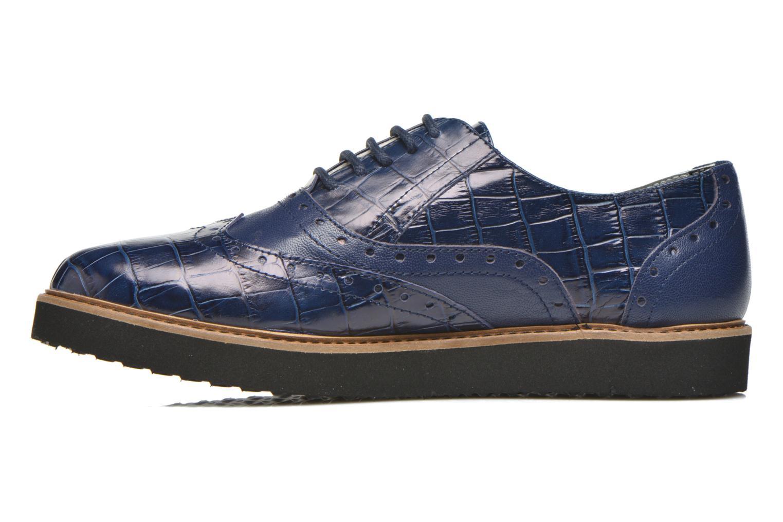 Chaussures à lacets Ippon Vintage Andy croco Bleu vue face