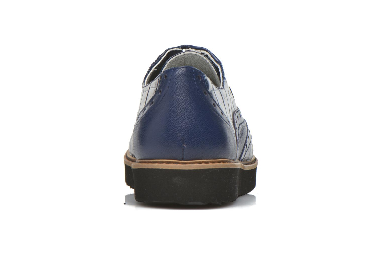 Zapatos con cordones Ippon Vintage Andy croco Azul vista lateral derecha