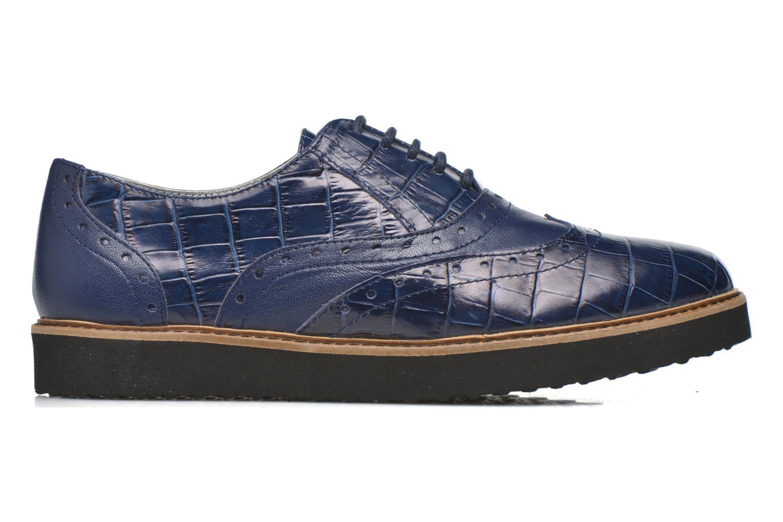 Schnürschuhe Ippon Vintage Andy croco blau ansicht von hinten