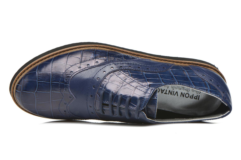 Zapatos con cordones Ippon Vintage Andy croco Azul vista lateral izquierda