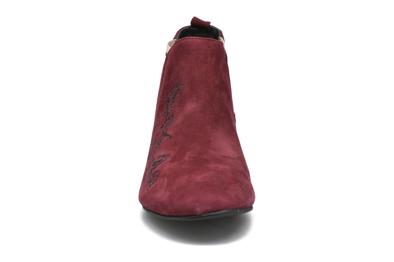 Bottines et boots Ippon Vintage Patch folk Bordeaux vue portées chaussures