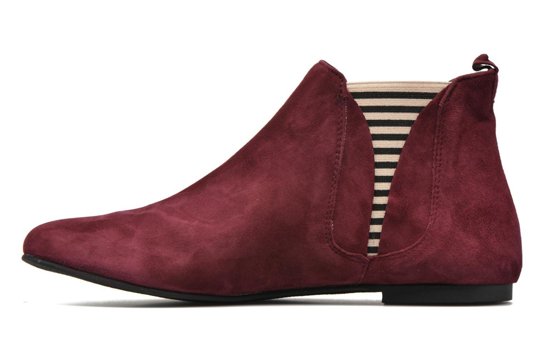 Bottines et boots Ippon Vintage Patch folk Bordeaux vue face