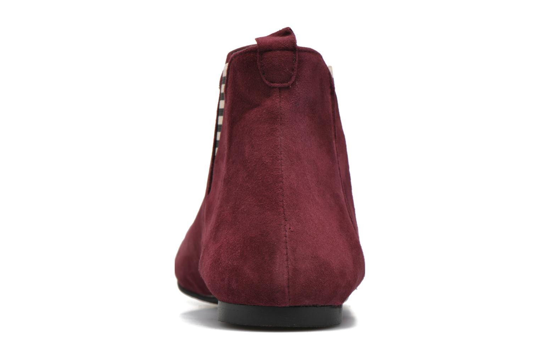 Bottines et boots Ippon Vintage Patch folk Bordeaux vue droite