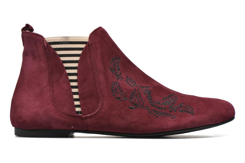 Bottines et boots Ippon Vintage Patch folk Bordeaux vue derrière