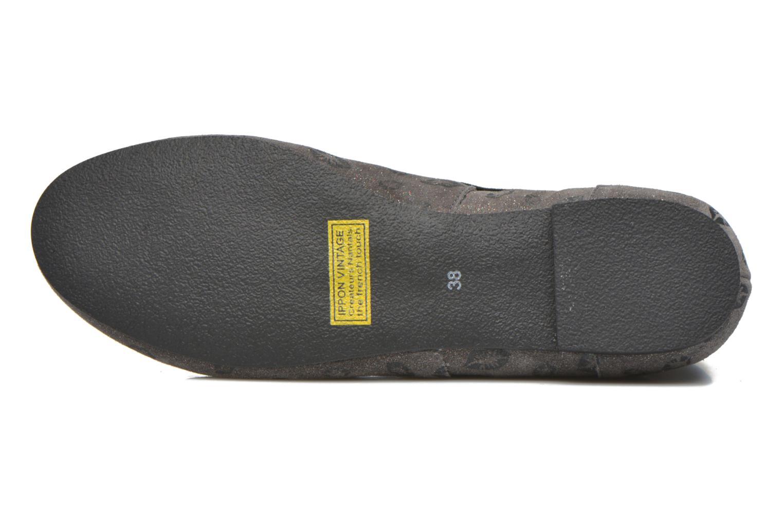 Bottines et boots Ippon Vintage Peal Kiss Gris vue haut