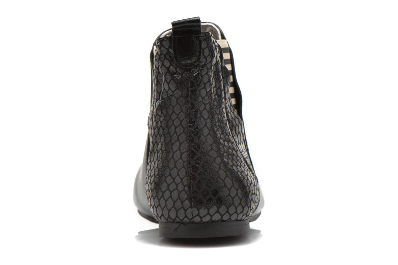 Bottines et boots Ippon Vintage Patch Rock Noir vue droite