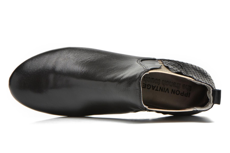 Bottines et boots Ippon Vintage Patch Rock Noir vue gauche