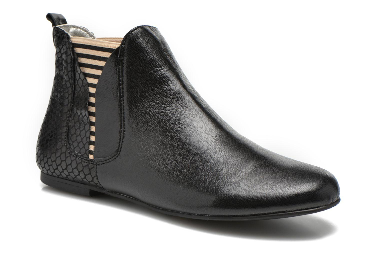 Bottines et boots Ippon Vintage Patch Rock Noir vue détail/paire