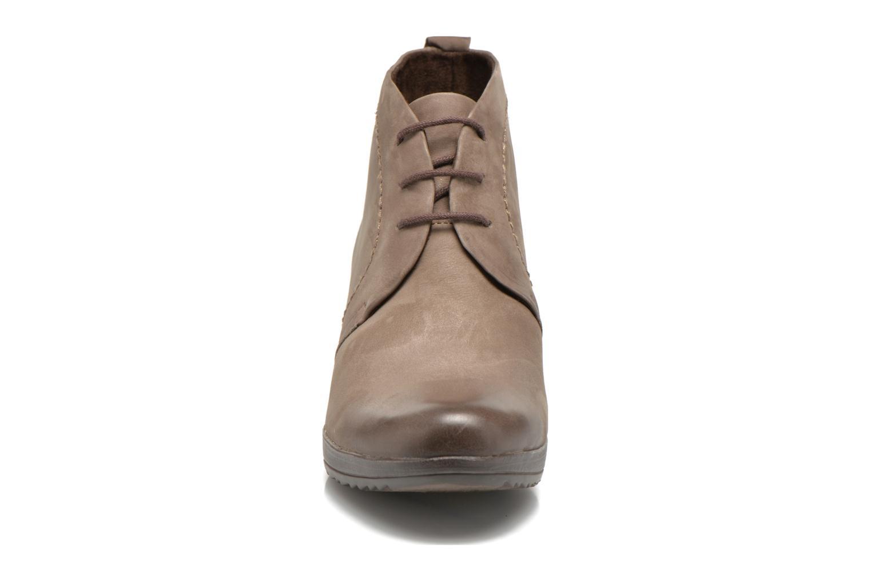 Chaussures à lacets Marco Tozzi Aciala Gris vue portées chaussures