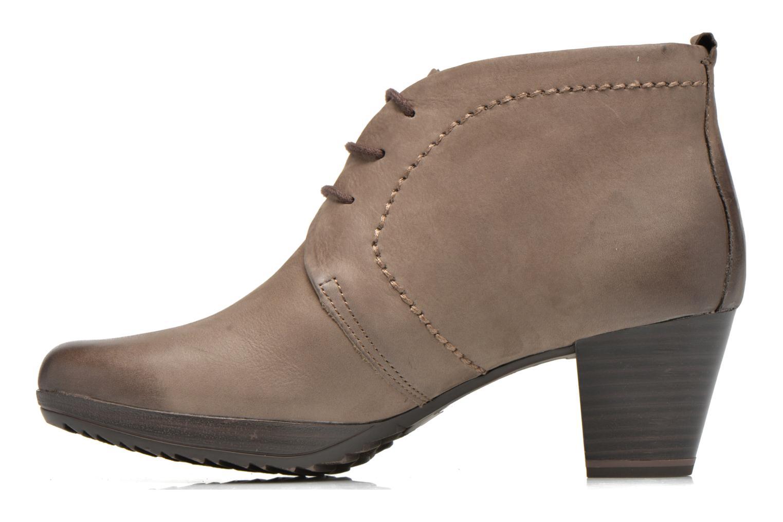 Chaussures à lacets Marco Tozzi Aciala Gris vue face