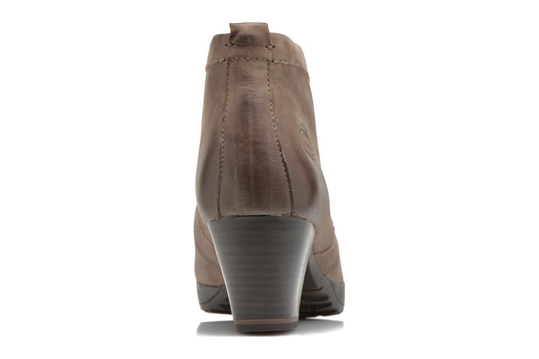 Chaussures à lacets Marco Tozzi Aciala Gris vue droite