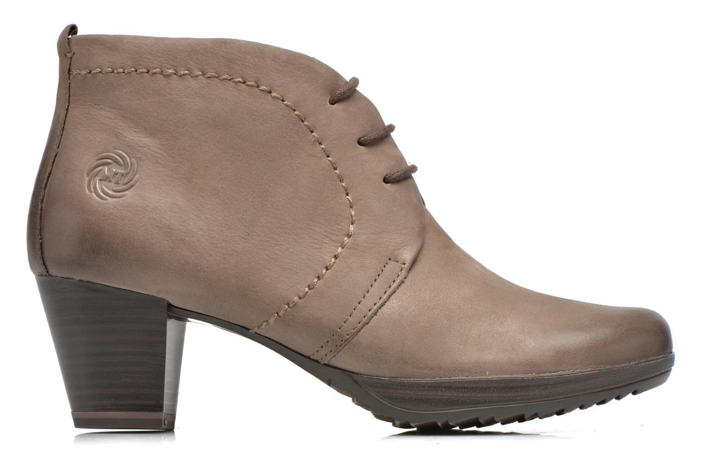 Chaussures à lacets Marco Tozzi Aciala Gris vue derrière