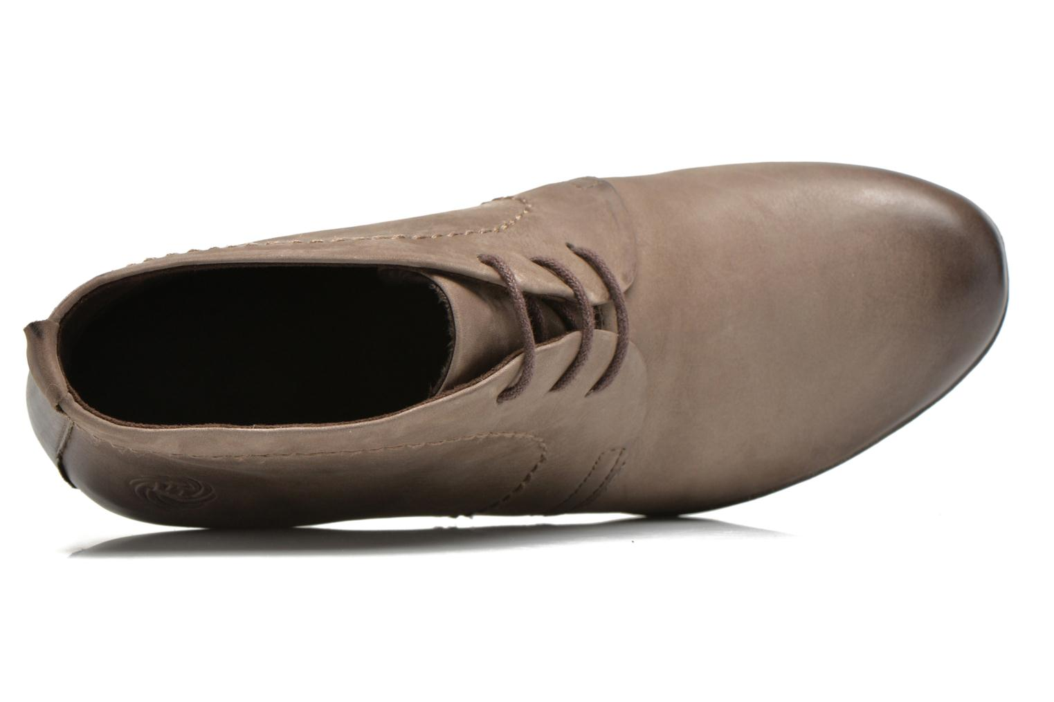 Lace-up shoes Marco Tozzi Aciala Grey view from the left