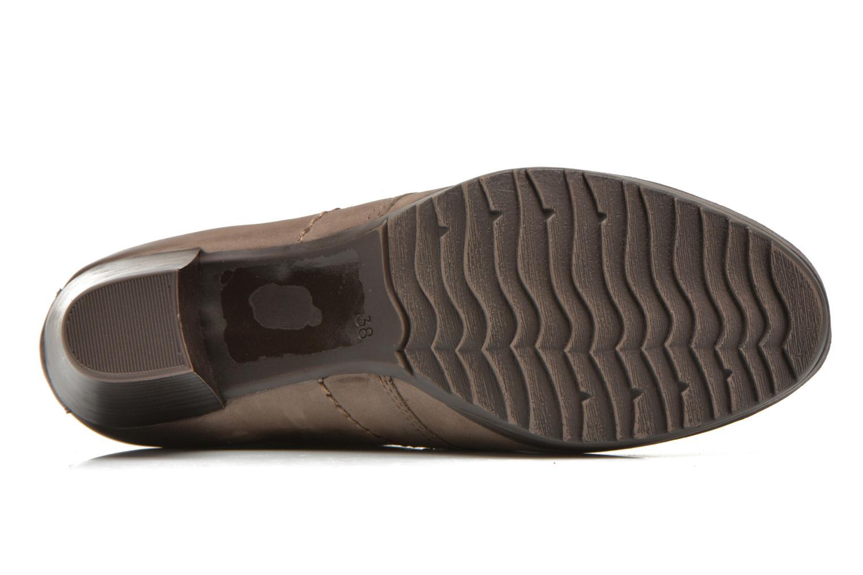 Chaussures à lacets Marco Tozzi Aciala Gris vue haut