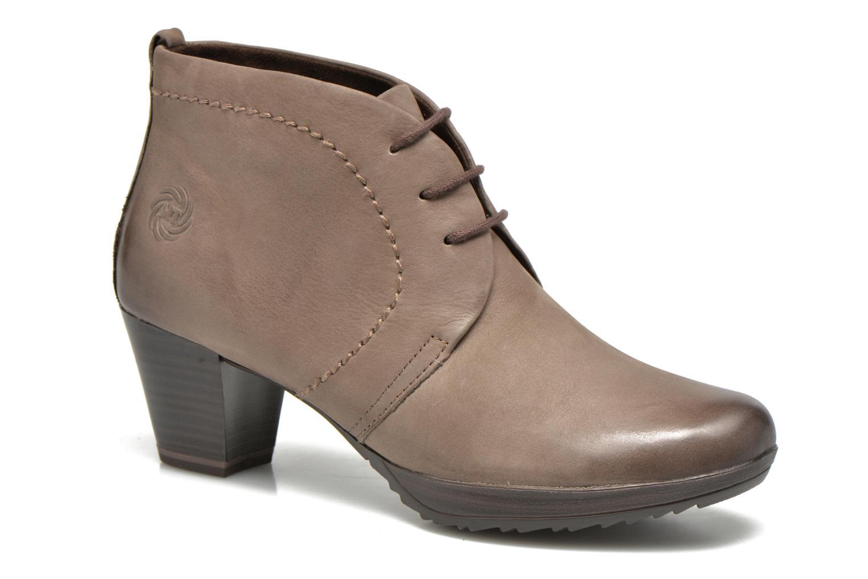 Chaussures à lacets Marco Tozzi Aciala Gris vue détail/paire