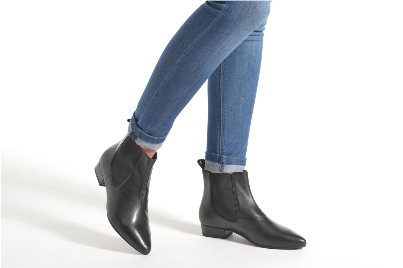 Bottines et boots Vagabond SARAH 4206-101 Noir vue bas / vue portée sac