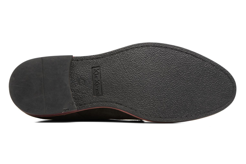Zapatos con cordones Kickers Eldan Marrón vista de arriba