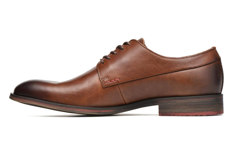 Chaussures à lacets Kickers Darkos Marron vue face