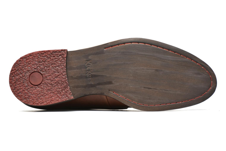 Chaussures à lacets Kickers Darkos Marron vue haut