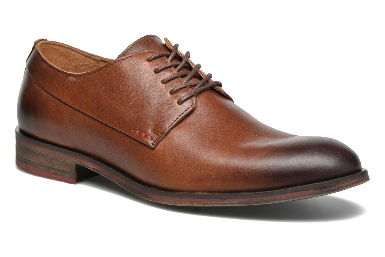 Chaussures à lacets Kickers Darkos Marron vue détail/paire