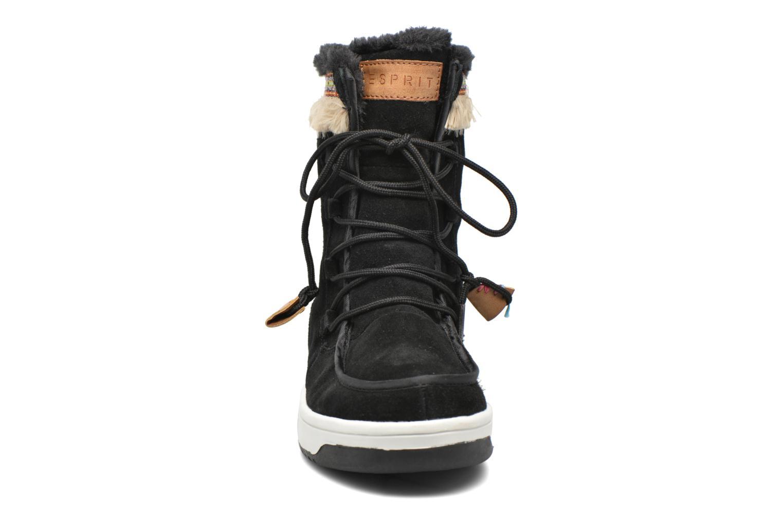 Bottines et boots Esprit Ducky LU Bootie Noir vue portées chaussures