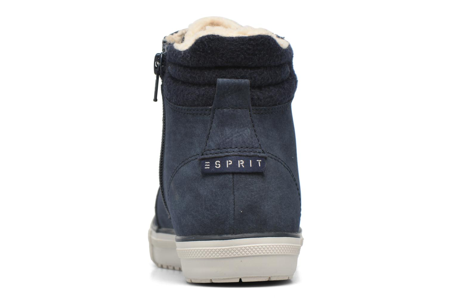 Trainers Esprit Mika Bootie Blue view from the right