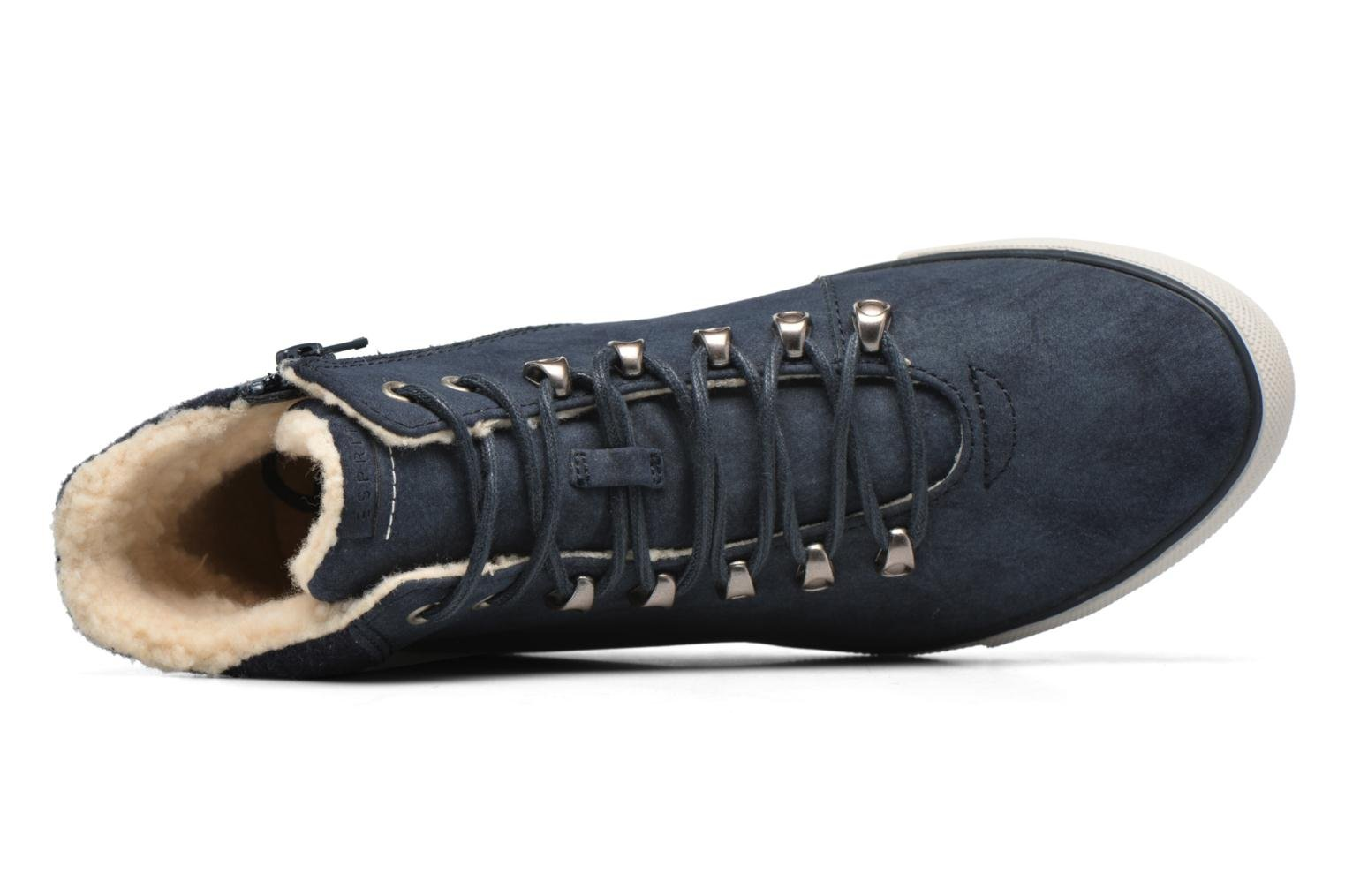 Trainers Esprit Mika Bootie Blue view from the left