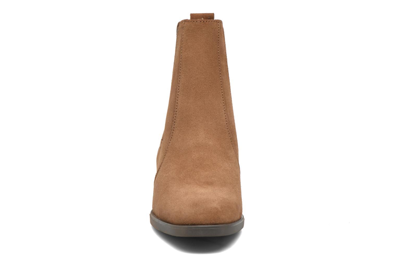 Stiefeletten & Boots Esprit Laurie Bootie braun schuhe getragen