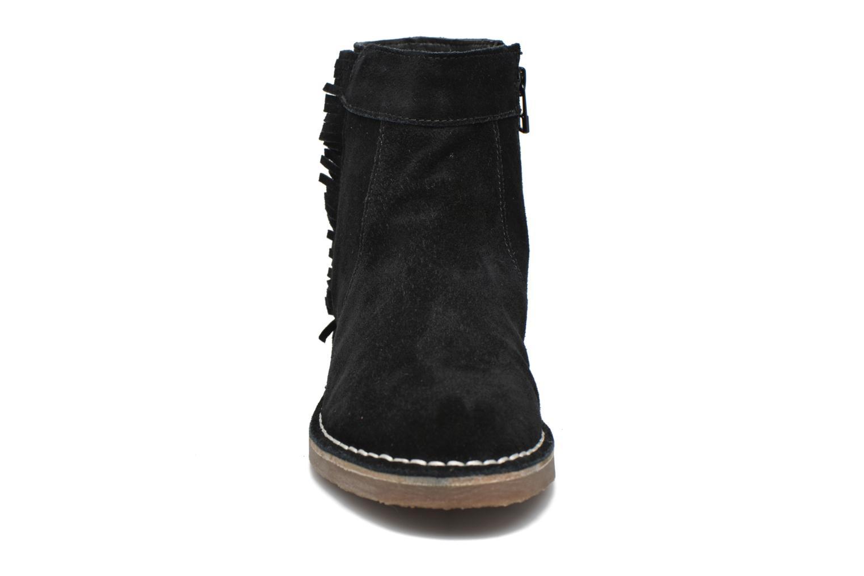 Bottines et boots Esprit Koa Fringes Noir vue portées chaussures