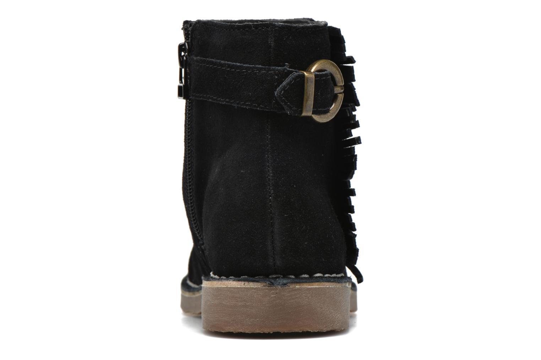 Bottines et boots Esprit Koa Fringes Noir vue droite