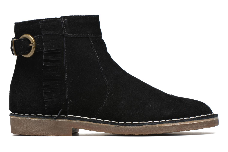 Bottines et boots Esprit Koa Fringes Noir vue derrière