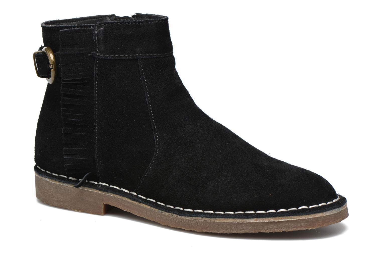 Bottines et boots Esprit Koa Fringes Noir vue détail/paire