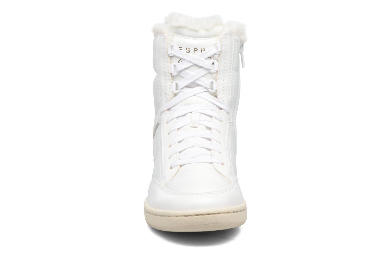 Baskets Esprit Heidi Bootie Blanc vue portées chaussures